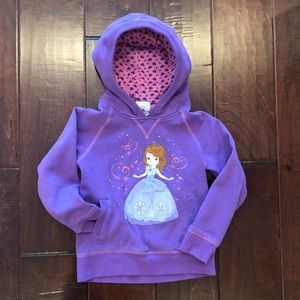 Sofia the first hooded sweater